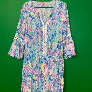 Lilly Pulitzer Mermaids Cove Hollie Tunic